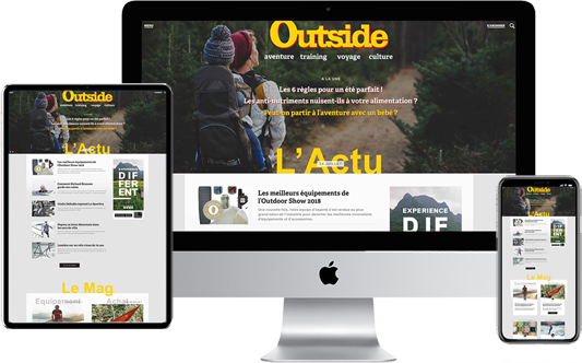 Outside le magazine de l'outdoor