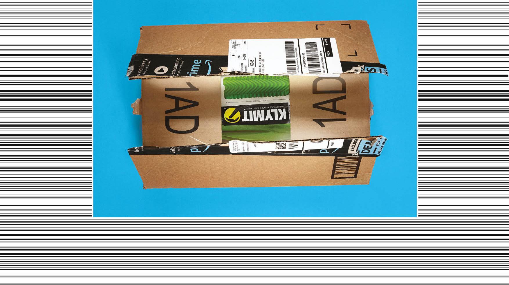 Carton de livraison Amazon