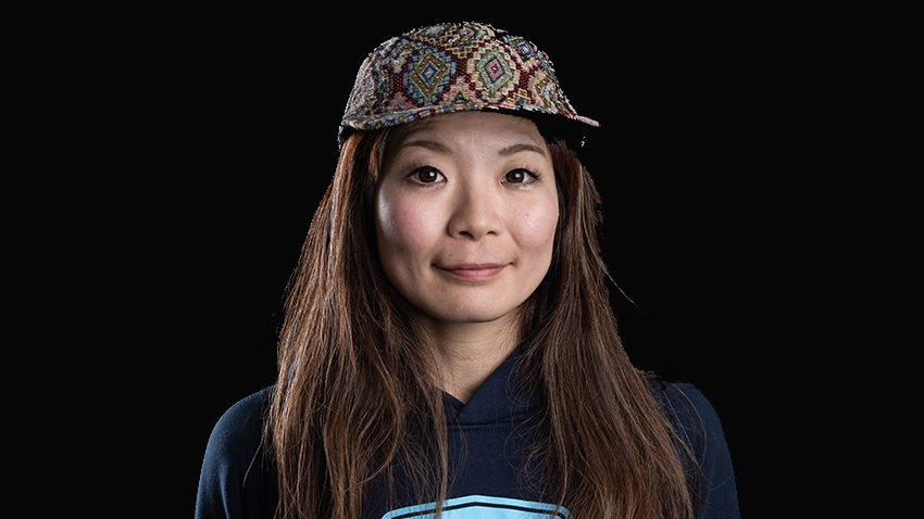 portrait Wakana Hama crédit photo Freeride World Tou