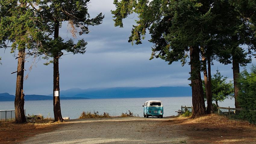 Mon premier été dans un van