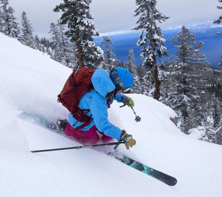 Meghan Kelly en ski