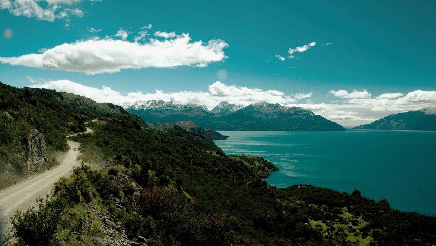 Un lac du Pumalin National Park