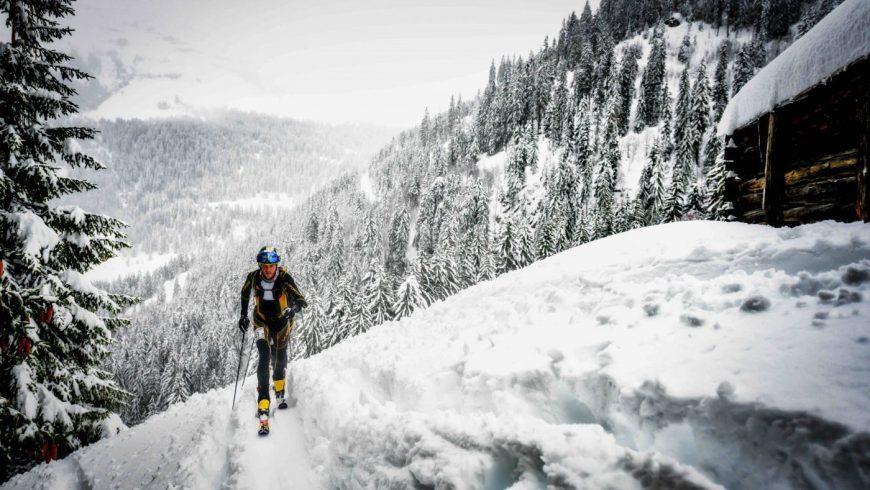 Ludovic Pommeret et ski