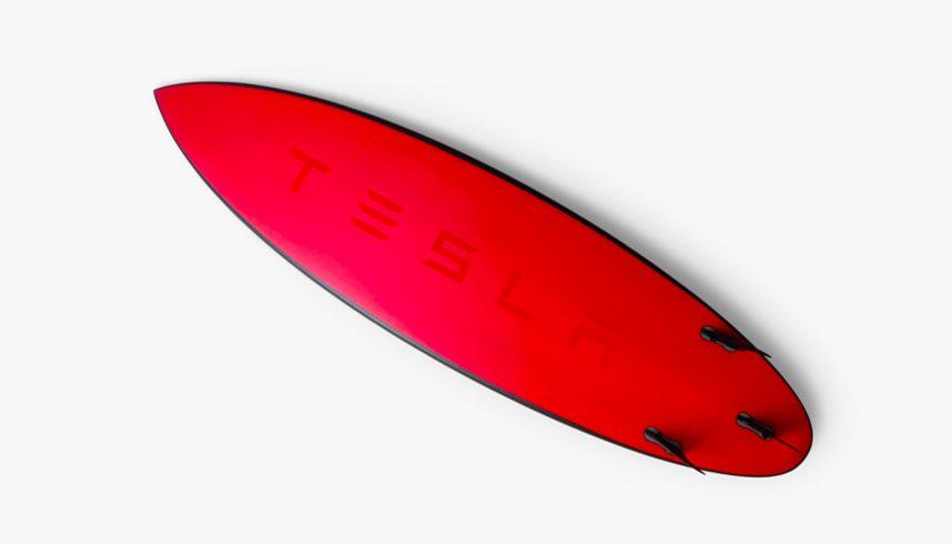 Planche de surf Tesla