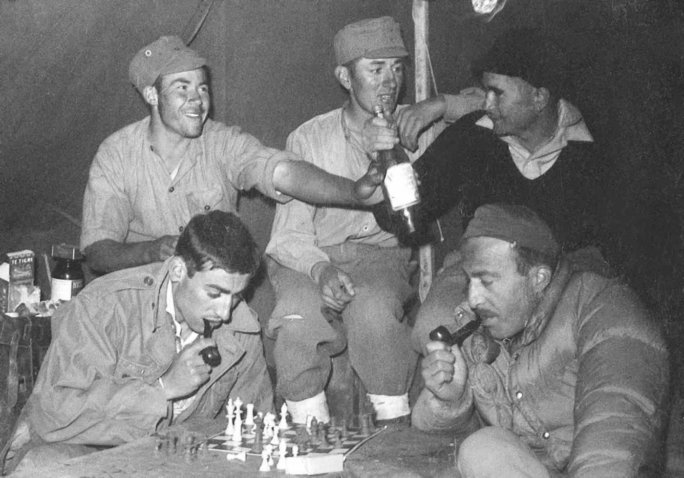 aconcagua Camp Base 1954