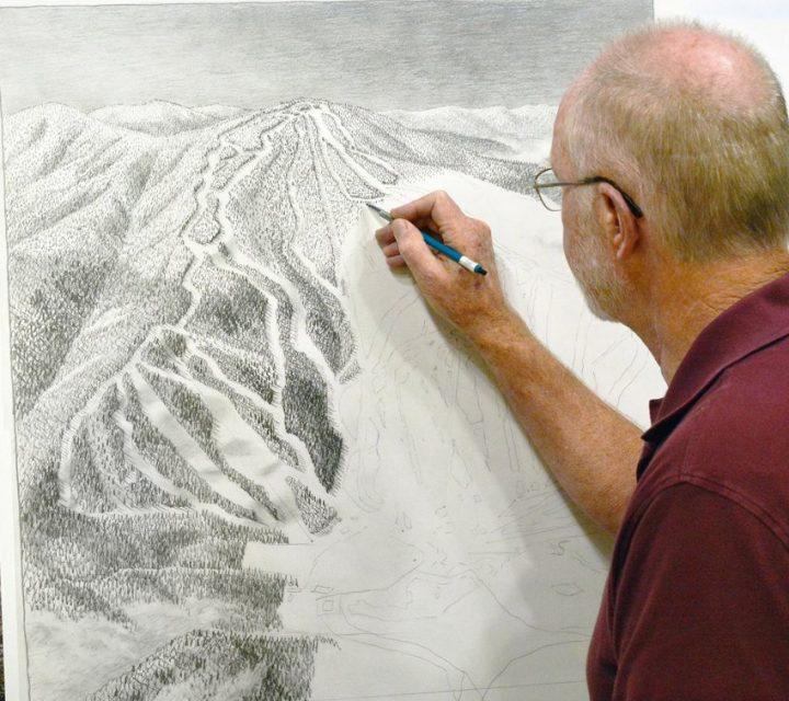 Gunstock peint une carte des sentiers