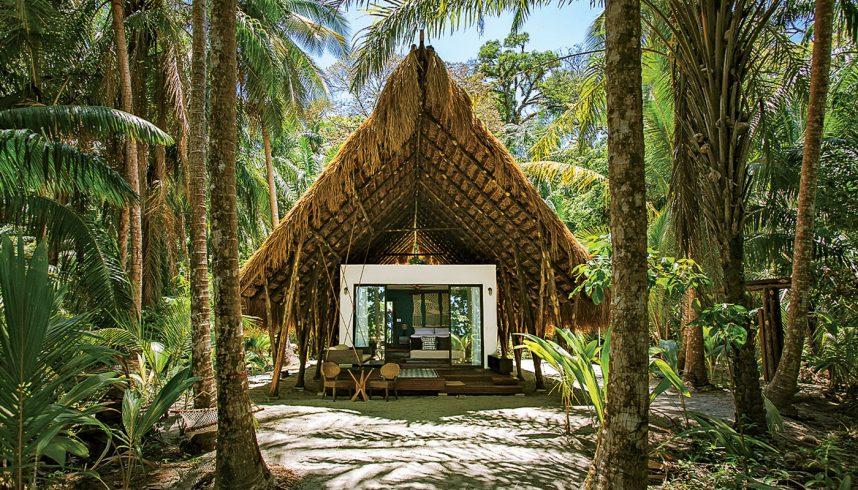 Isla Palenque, au Panama