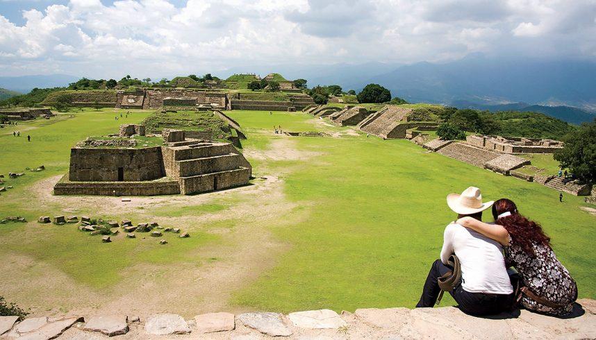 Des ruines dans la région de Oaxaca, au Mexique