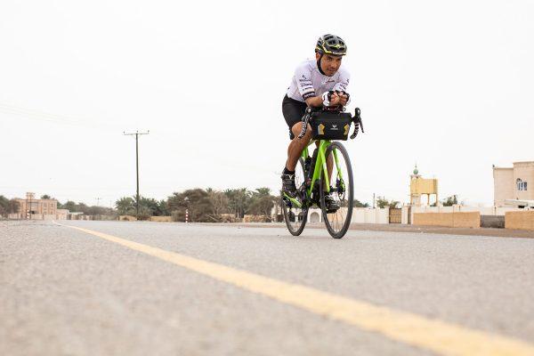 Rodney Soncco, vainqueur du Biking Man 2019 Oman