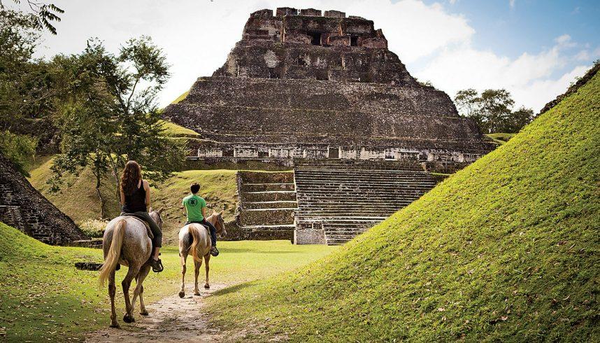 Les ruines mayas du Belize