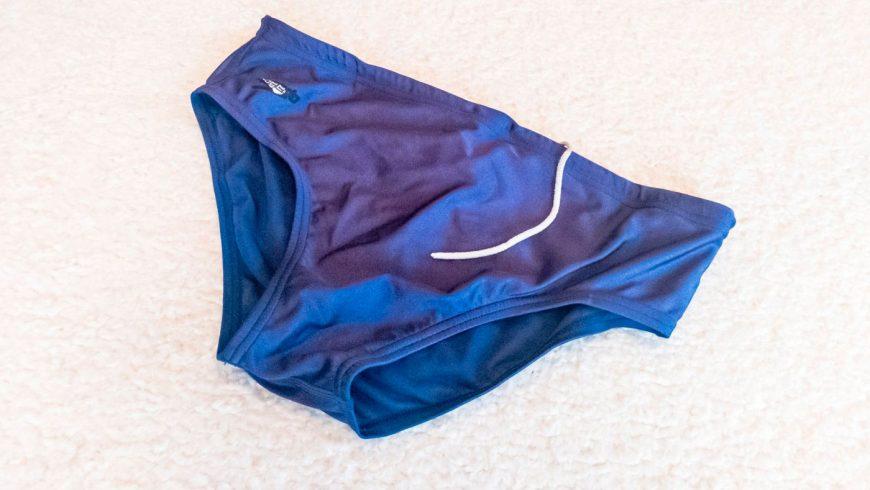 maillot de bain speedo bleu