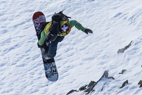 Victor De Le Rue, champion du monde de freeride