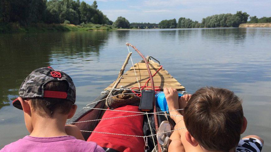 French Mississipi: Descendre la Loire en canoë avec ses fistons