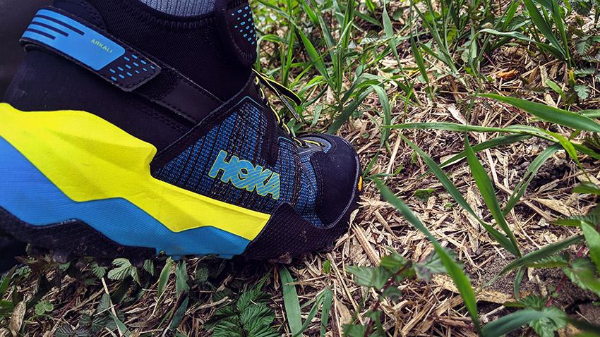 La nouvelle chaussure de randonnée d'Hoka : l'Arkali