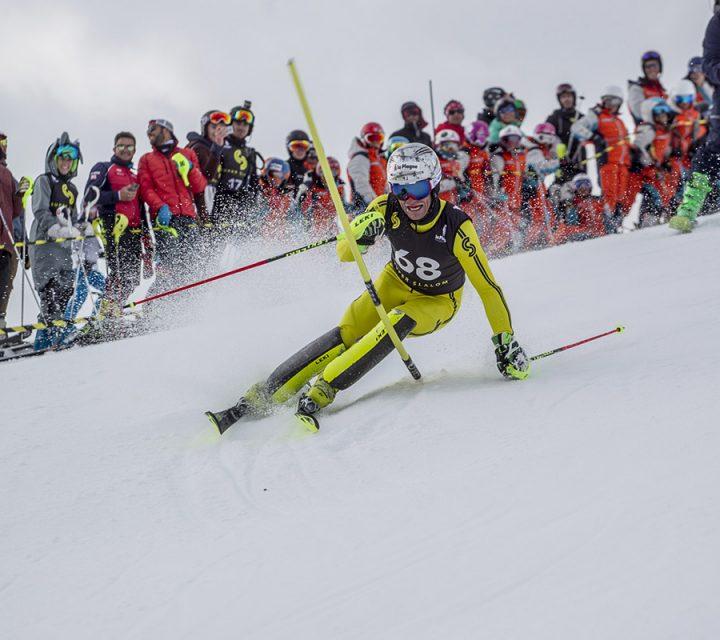 Julien Lizeroux au Super Slalom de La Plagne