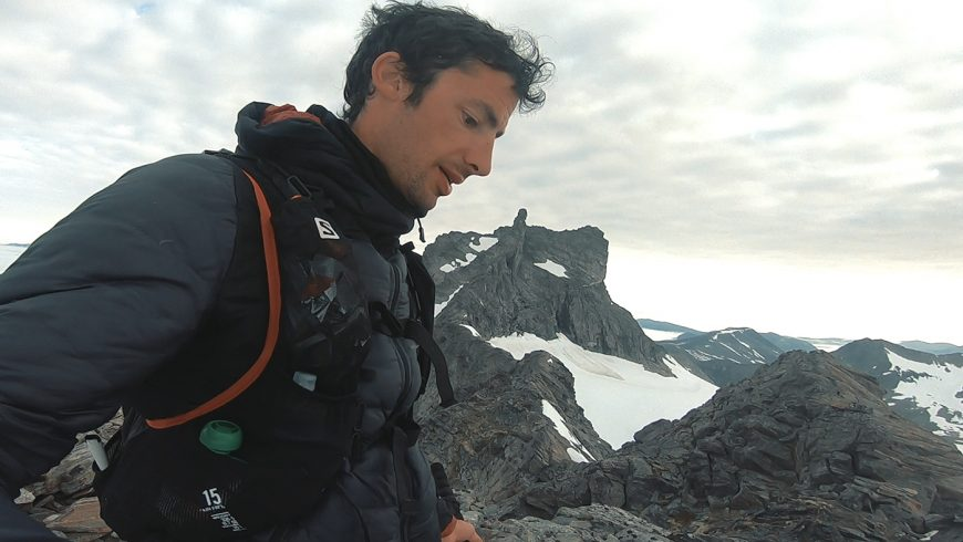 "Kilian Jornet dans son documentaire ""A Long Day Out"""