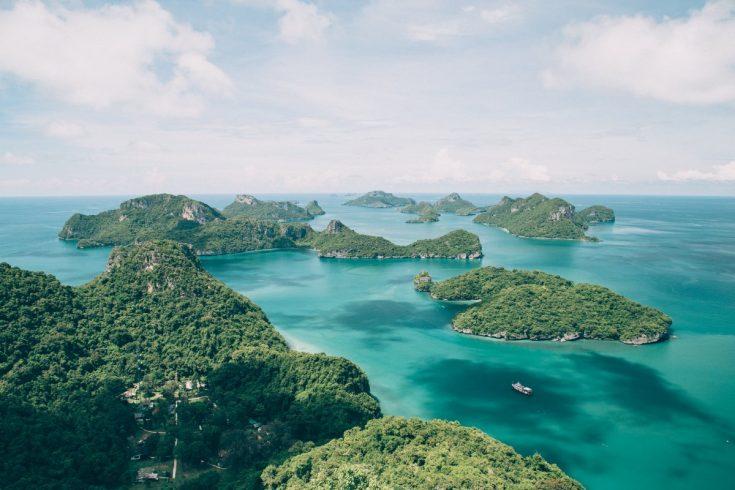 Le Parc national de Mu Ko Ang Thong en Thaïlande