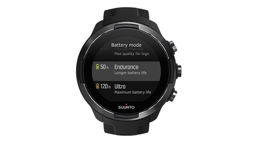 La Suunto 9 a la plus grosse batterie du marché.