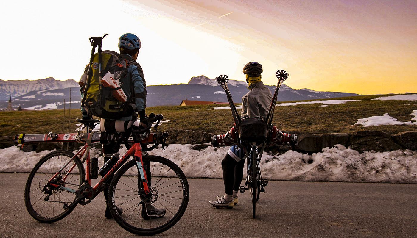 Véloski, le meilleur du ski et du vélo en mode écolo
