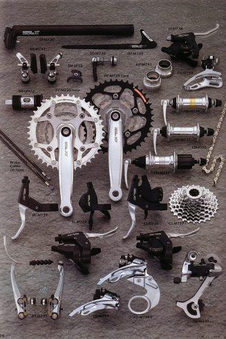 Composants Déore XT, 1997