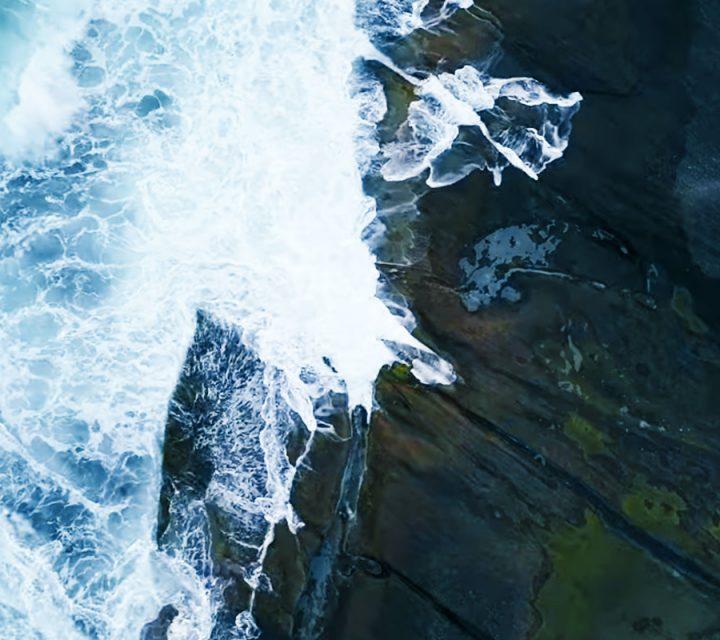 La nature filmée en drone