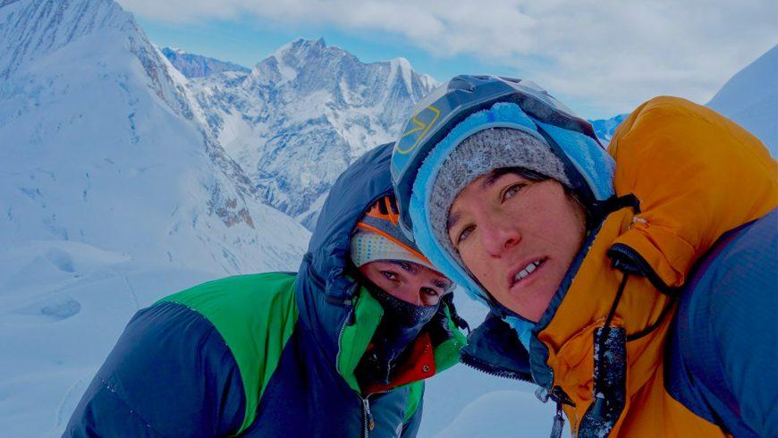 Elisabeth Revol à l'Everest