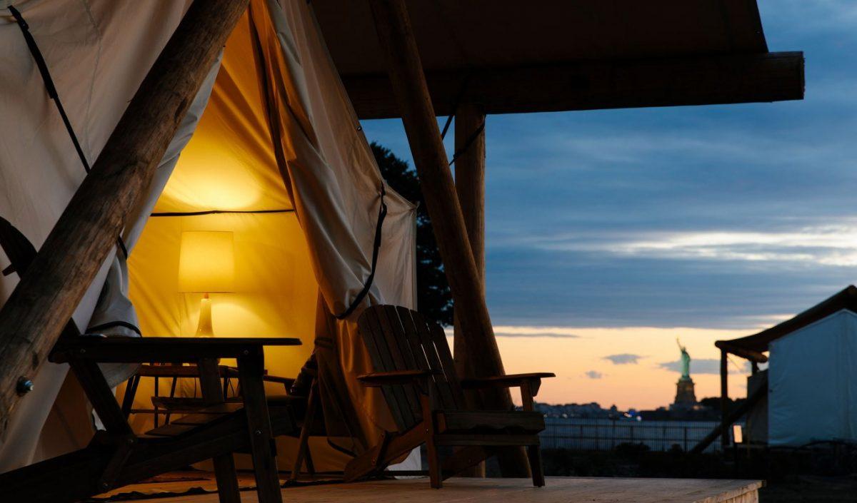 Pas besoin de rouler pendant des heures pour trouver un camping de charme aux Etats-Unis.