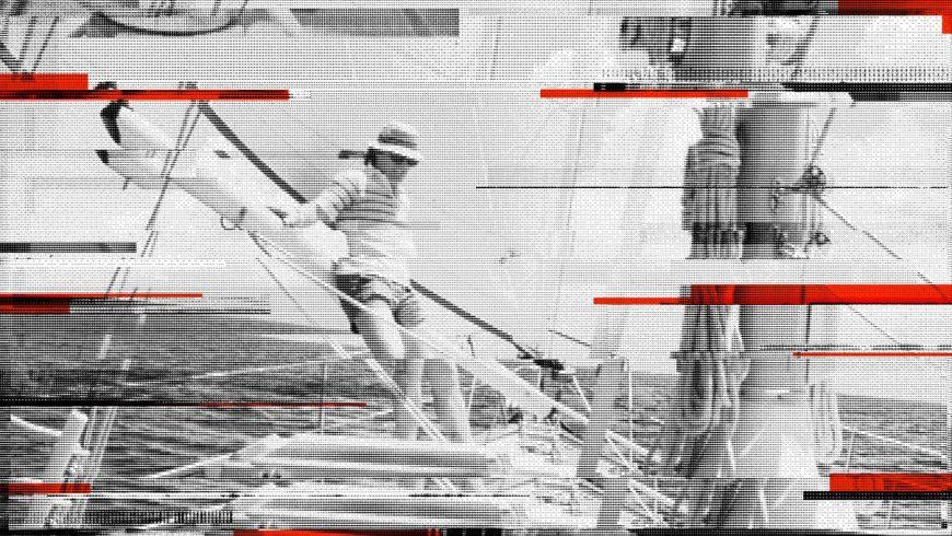 Richard Carr perdu en plein Pacifique