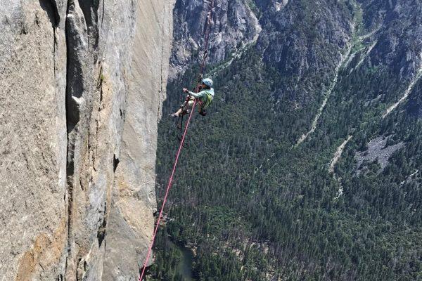 Selah Schneiter, 10 ans grimpe The Noze