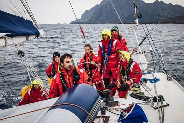 Photo de l'expédition d'Ocean Peak en Norvège