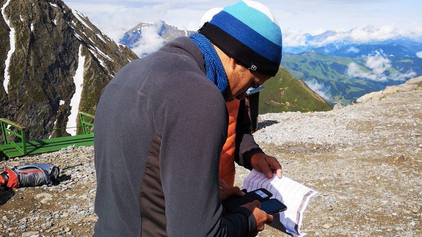 Contrôle des réservations électroniques pour le mont Blanc