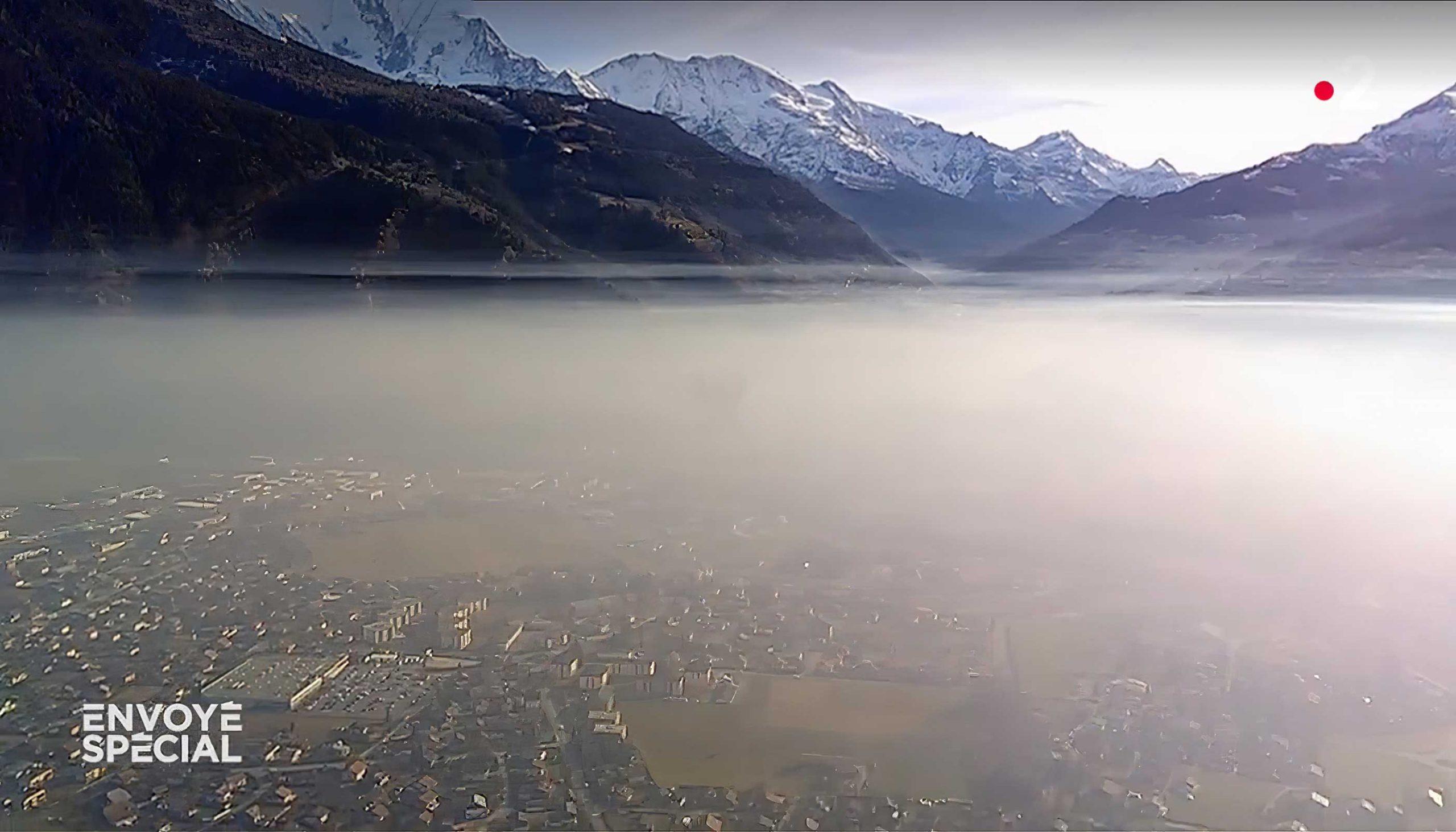 Pollution dans la vallée de l'Arve