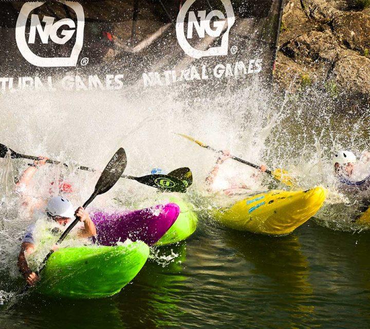 Session Kayak au Natural Games