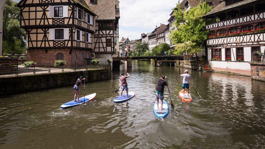 Avec le stand up paddle, tu redécouvres ta ville