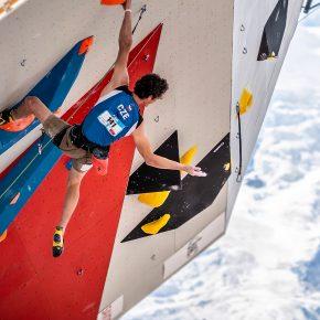 La légende Adam Ondra a remporté l'épreuve de difficulté à Chamonix ce week-end