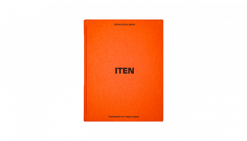 Le livre ITEN du concept store Distance