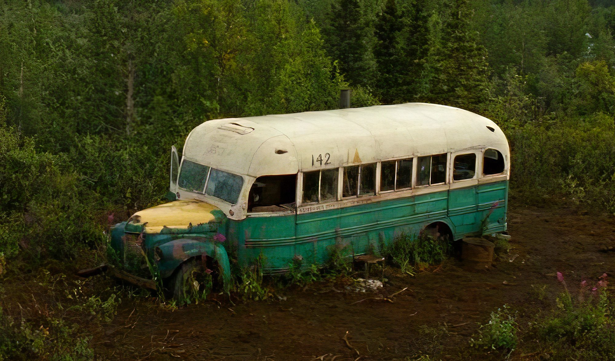 Le magic bus du film Into the wild
