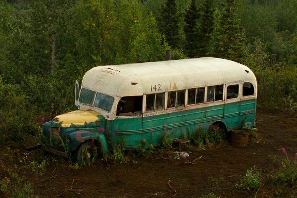 Le magic bus du film Into the wild