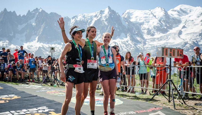 Podium femme Marathon du Mont-Blanc
