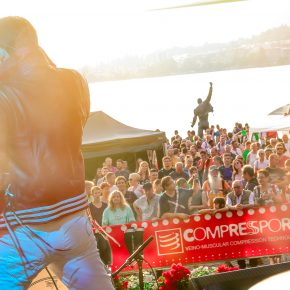 Concert de rock au Montreux Trail Festival