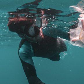 Vortex de plastique de l'Atlantique nord