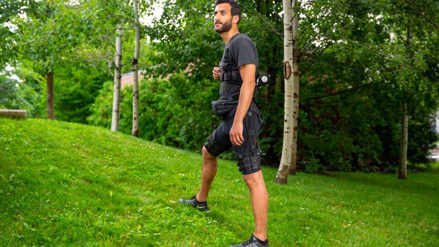 Exosuit, le short pour marcher et courir plus vite