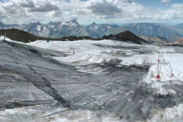Glacier des deux alpes le 12 aout 2019