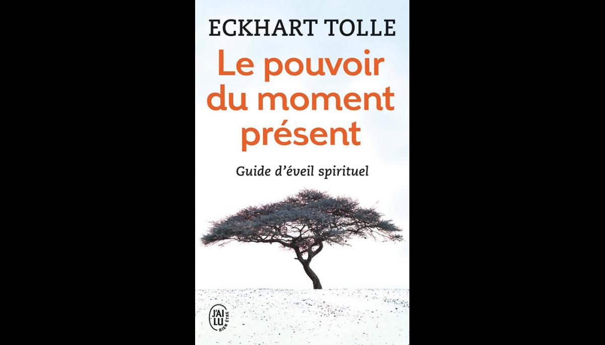 """Couverture du livre """"Le pouvoir du moment présent"""""""