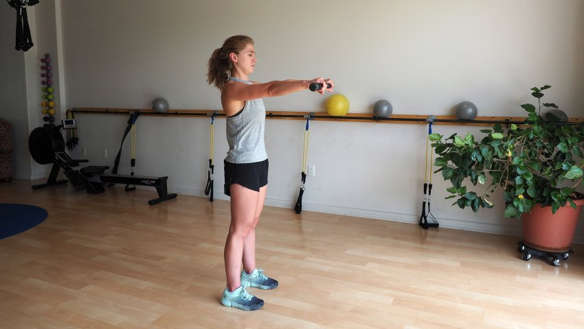Exercice shoulder opener