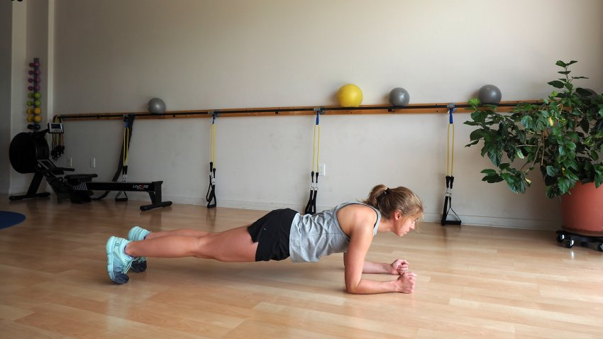 Exercice planche gainage