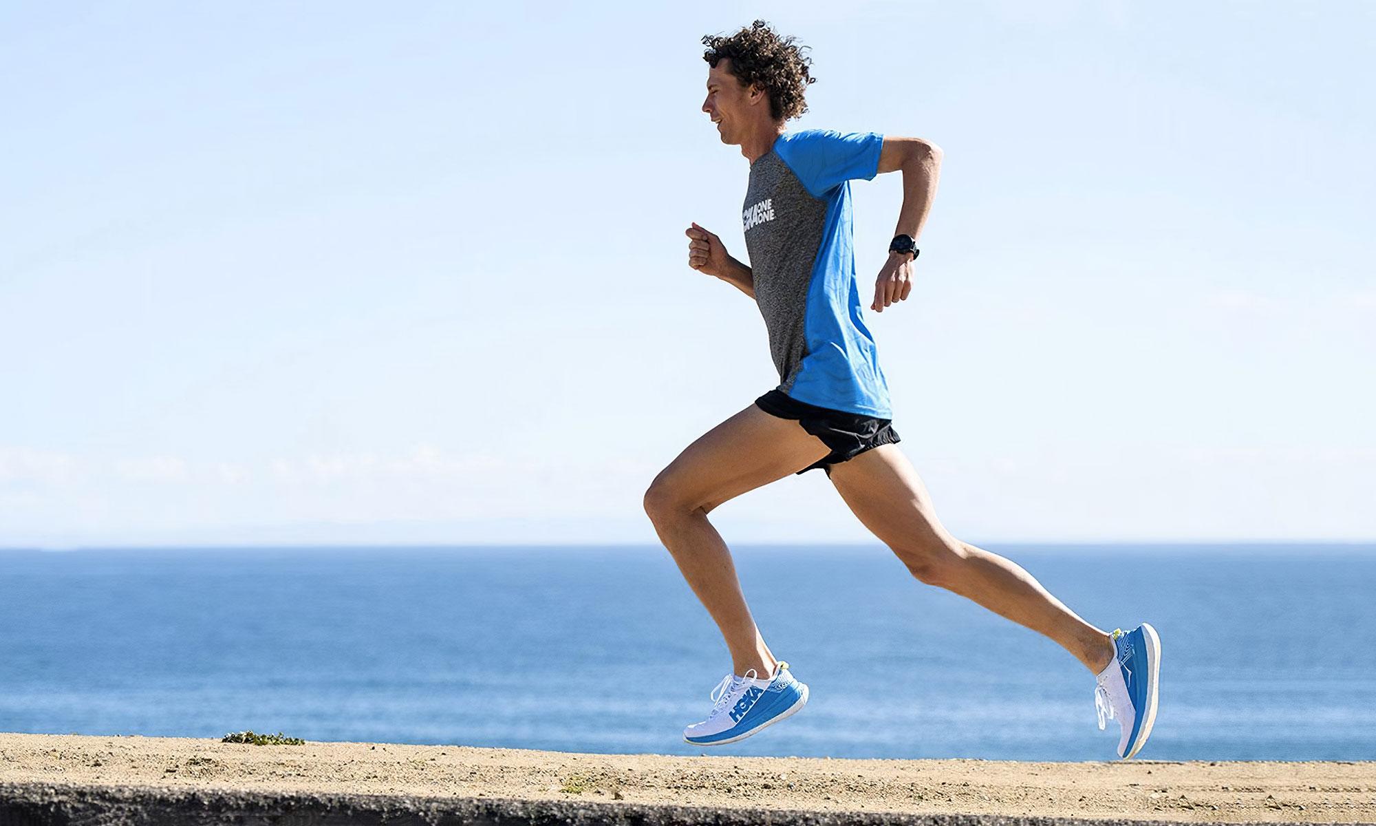image de coureu en survetement nike