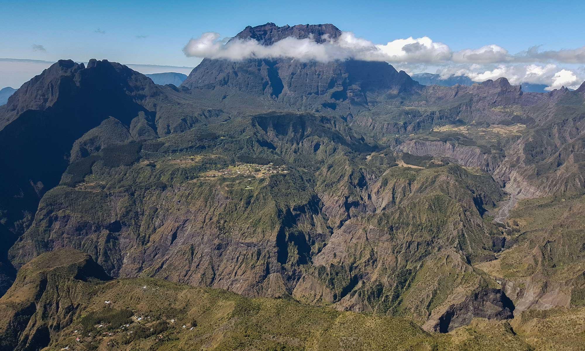 île de la Réunion, cirque de Mafate