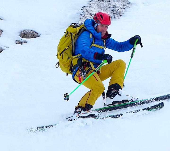 Davo Karnicar en ski