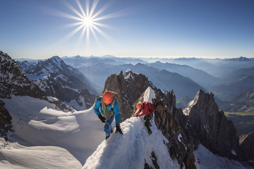 Alpenglow Ben Tibbetts/Editions du Mont-Blanc